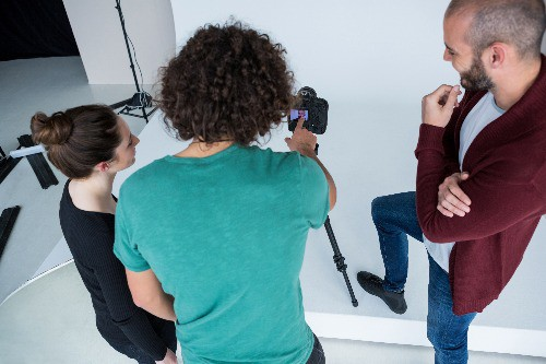 corporate photography shoot