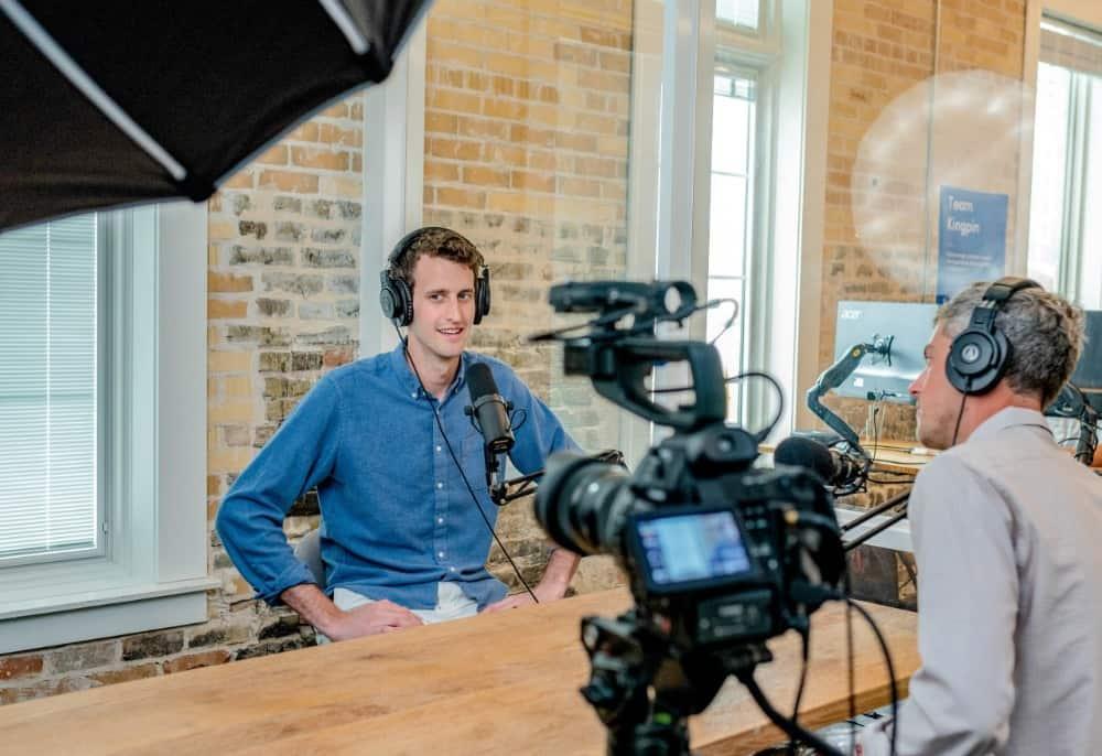 shooting corporate videos