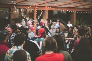 outdoor social event photo
