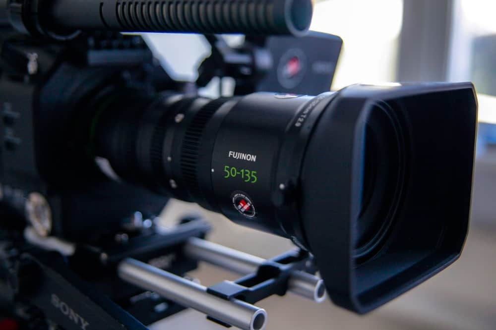 camera for live action video productions