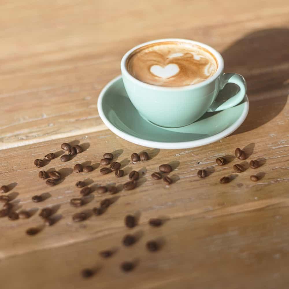 high shot coffee photo