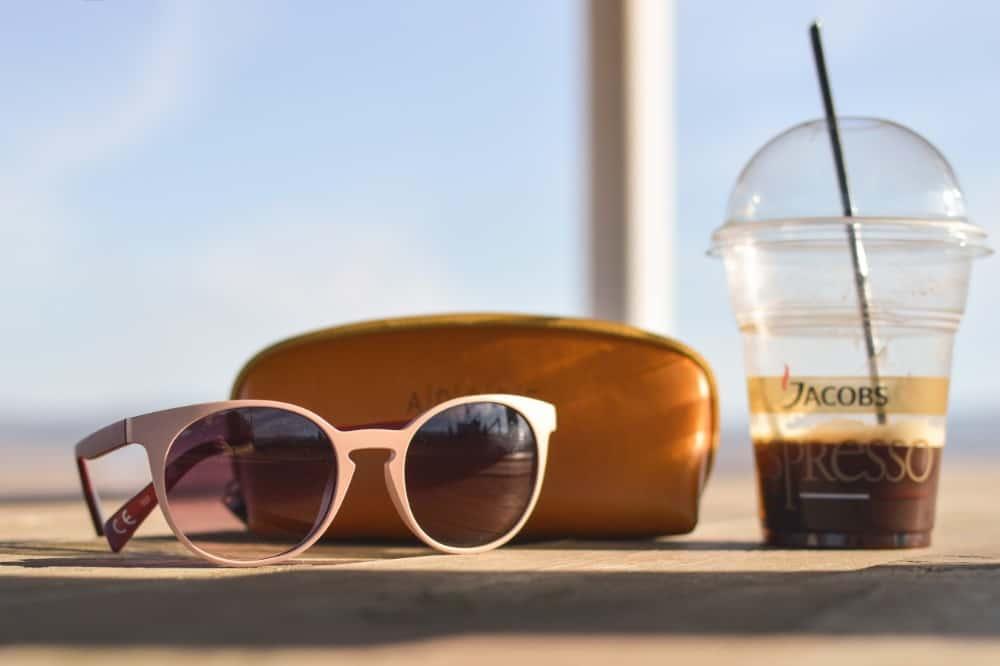 low angle sunglasses photo