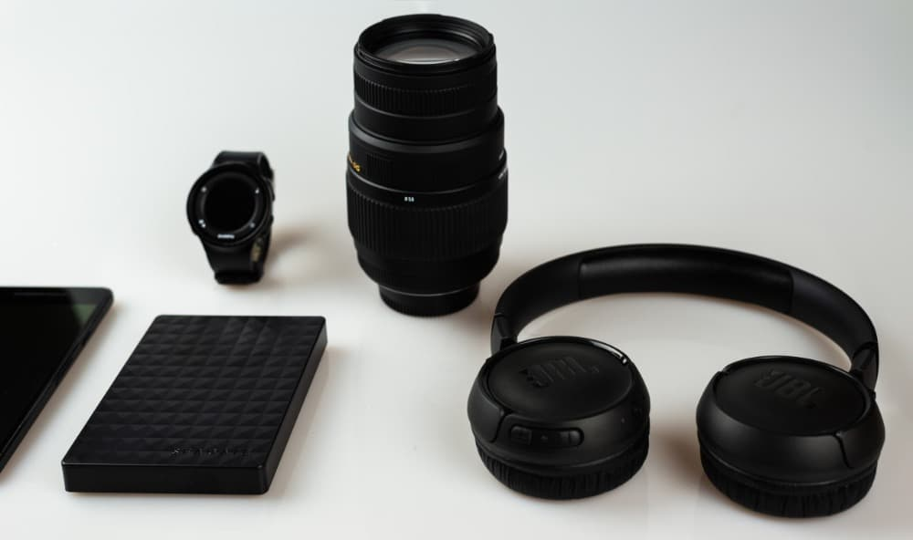 flatlay product photo