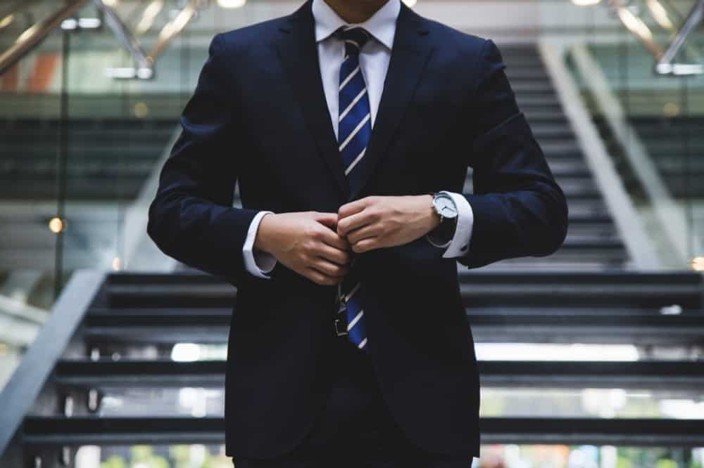office photo corporate suit